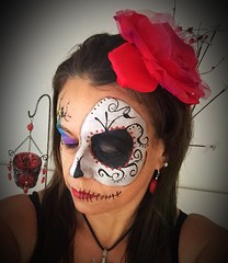 Halloween (Claudia M15) Tags: facepaint face facepainting faceart diadelosmuertos dayofthedead halloween