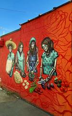 Feast of the Dead by Ava Grey (wiredforlego) Tags: graffiti mural streetart urbanart aerosolart publicart chicago illinois ord avagrey
