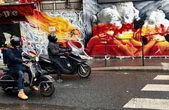 Les Trois Graces (gregjack!) Tags: streetphotography street streetart graffiti muralart mural thethreegraces paris france