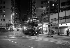 Sai Wan Ho (std70040) Tags: tram tramcar tramway hongkong street night
