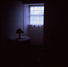 My father's childhood bedroom in Portugal. (Brjann.com) Tags: fujichrome fujifilm velvia 50 hasselblad 501cm medium format analog film fuji slide e6 mood sombre nostalgia childhood bedroom