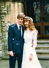 283_PaulLinda1987 (wrightfamilyarchive) Tags: paul linda wright wedding beckenham 21 march 1987 1980s 80s eighties