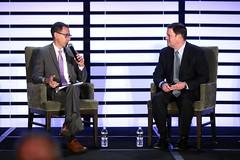 Glenn Hamer & Doug Ducey (Gage Skidmore) Tags: doug ducey governor arizona glenn hamer legislative forecast luncheon chamber commerce industry biltmore phoenix