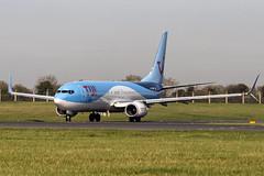 G-TAWV | TUI Airways | Boeing B737-8K5(WL) | CN 41662 | Built 2015 | DUB/EIDW 25/02/2019 | ex D-ATUP (Mick Planespotter) Tags: aircraft airport 2019 dublinairport collinstown nik sharpenerpro3 gtawv tui airways boeing b7378k5wl 41662 2015 dub eidw 25022019 datup b737