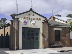 NSW Fire and Rescue Station - Mittagong NSW - see below (Paul Leader - Paulie's Time Off Photography) Tags: firerescuensw firestation heritagelisted mittagongnsw olympus olympusem10 paulleader streetphotography streetscape architecture oldbuilding building heritagebuilding emergency ems emergencyservices nsw newsouthwales australia southernhighlands