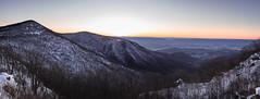 Spitler Knoll overlook 3-26-2019 (adamwilliams4405) Tags: mountains overlook shenandoah snow sunset colors sky parks virginia landscape landscapes va canon nature explore sunsets skyline
