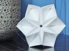 Sonobe Stars - Sun Star Variation (pia miller) Tags: origami sonobe paperart star