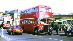 Slide 135-05 (Steve Guess) Tags: addlestone surrey england gb uk lbpt cbm bus road stationroad aed26b london transport titan le1 warrington