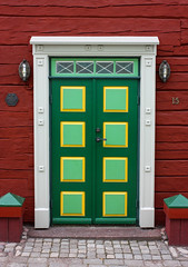 IMG_2911-1 (Andre56154) Tags: schweden sweden sverige eksjö stadt city village haus house holzhaus tür door eingang entrance
