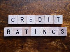 Credit ratings stock photo