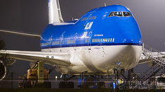 PH-BFY (tynophotography) Tags: klm 747400 phbfy boeing 744 747 nightshot