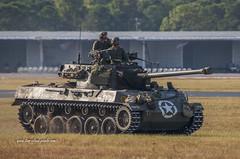 At the Ready (tclaud2002) Tags: tank army armytank u s crew military battle reenactment battlereenactment wwii worldwartwo vintage airshow 2018 stuartairshow 2018stuart stuart florida usa