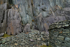 The face of Dinorwic (PentlandPirate of the North) Tags: 50shadesofgrey colour slate dinorwic dinorwig gwynedd northwales snowdonia quarry