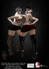 Mortal Poison (Dark Love store) Tags: maitreya hourglass physique freya secondlife clothes sexy dark 7event