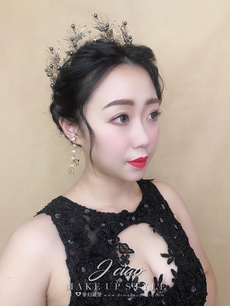 【新秘婕喬】新娘造型創作 / 華麗宮廷造型