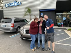 David and Leslie Budner with 2015 pathfinder (Autolinepreowned) Tags: autolinepreowned highestrateddealer drivinghappiness atlanticbeach jacksonville florida