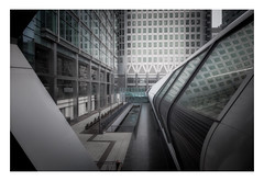 Caprica (Rich Walker Photography) Tags: london canarywharf england city futuristic tunnel grey silver architecture buildings building canon efs1585mmisusm eos eos80d cityscape abstract