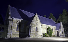 St Stephen's Anglican Church, Mittagong NSW, built 1876 - see below (Paul Leader - Paulie's Time Off Photography) Tags: anglicanchurch church heritagelisted mittagongnsw night southernhighlandsnsw ststephensanglicanchurch olympus olympusem10 paulleader architecture oldbuilding building heritagebuilding god christian christianity saviour savior faith worship nsw newsouthwales australia