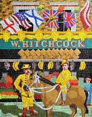 Young Hitchcock (R~P~M) Tags: train railway station mosaic mural alfredhitchcock film movie director centralline londonunderground leytonstone london england uk unitedkingdom greatbritain