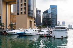 Dubai Marina (JarkkoS) Tags: 2470mmf28eedafsvr boat d850 dubai dubaimarina uae unitedarabemirates ae