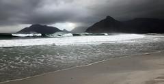 ... (a.penny) Tags: cape south africa klein slngkop long beach waves sea ocean iphone apenny sa zaf za western explored