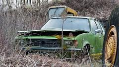 Bullet in the head (ostplp) Tags: bullet murder meurtre voiture car gang urbex exploration vintage forgotten
