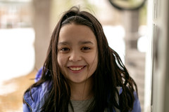 She let me take her picture (Ed Gloria) Tags: daughter girl student school bus home portrait canon 6d 50mm