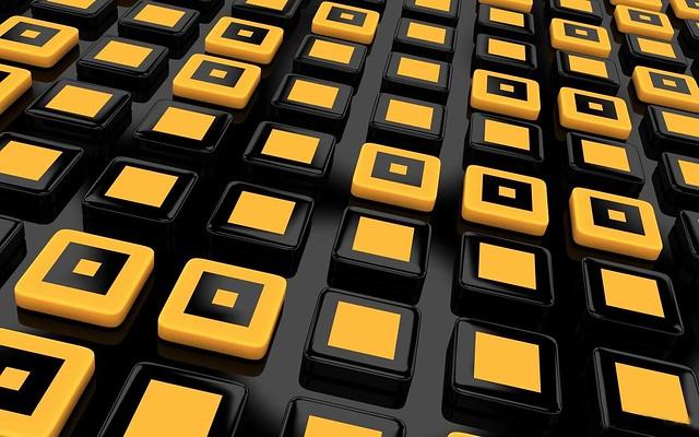 Обои квадраты, желтый, линии картинки на рабочий стол, фото скачать бесплатно