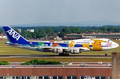 "ANA Boeing 747-481 JA8962 ""Pokemon"" (gooneybird29) Tags: flugzeug flughafen aircraft airport airplane airline fra ana allnippon boeing 747 ja8962 pokemon"