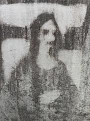 Mono Lisa (Sameli) Tags: mona lisa mono streetart street art wall detail soukka espoo suomi finland