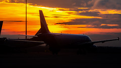 Indigo Airbus A320 VT-IDE Bangalore (BLR/VOBL) (Aiel) Tags: indigo airbus a320 vtide bangalore bengaluru canon60d tamron18400 sunrise silhouette