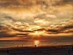 Sunset (Jose Abadin) Tags: sunset atardecer puestadesol beach sol sun seascape landscapes colors andalucía huelva