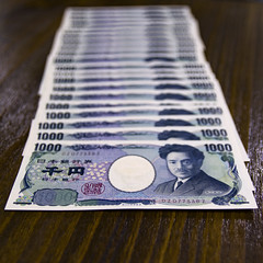 1000 Yens (Synghan) Tags: money yen japan japanese japaneseyen japanesemoney currency bank banknote 1000 5000 exchange change foreignmoney foreigncurrency photography horizontal indoor colourimage fragility freshness nopeople foregroundfocus adjustment interesting awe wonder fulllength depthoffield vivid purchase sell paper canon eos80d 80d sigma 1750mm f28 일본 엔화 일본엔화 일본돈