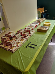 IMG_20190314_144133 (Billerica Public Library's Photostream) Tags: billericapubliclibrary youngadultprogram pie day pi table talk 314
