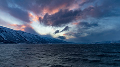 Artic Sea (pboolkah) Tags: canon canon5d canon5dmkiv norway artic sea clouds