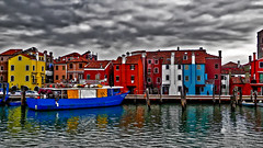 It's going to rain (Marco Trovò) Tags: marcotrovò hdr venezia venice italia italy building edificio city città mare sea barca boat architetture architecture