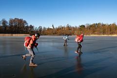 Sollentuna kyrka (David Thyberg) Tags: långfärdsskridsko winter nature skate sweden stockholm skating 2019 ice sverige rotebro se