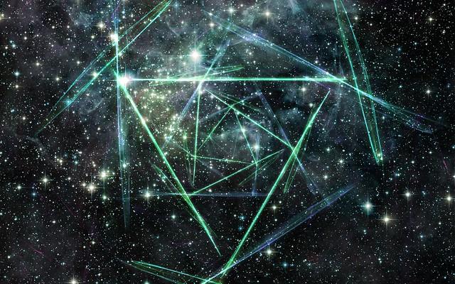 Обои линии, свет, небо, звезды картинки на рабочий стол, фото скачать бесплатно
