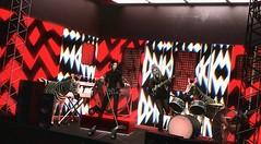 Animals on Stage (Greeneyed System) Tags: rock rockstar rockstars concert gig music band punk punckrock singers guitar guitars electricguitar zebra zebras toomuchblack secondlife sl heathermorris rex
