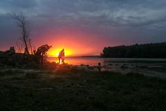 Romania (denismartin) Tags: denismartin danubedelta riverdelta sunset sun sunsetlight tulceacounty romania roumanie donau sky cloud river reflection nature