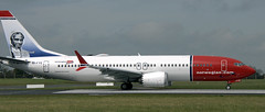 Boeing 737-MAX8 EI-FYE (707-348C) Tags: dublinairport ireland eidw passenger airliner jetliner boeing boeing737 b38m max norwegian dublin norwegianairinternational ibk dub eifye sojournertruth 737max 2018