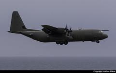 RAF (32 Squadron) C130J C.4 ZH865 @ Isle of Man Airport (EGNS/IOM) (Joshua_Risker) Tags: isle man egns iom airport plane aviation avgeek ronaldsway royal air force raf c130 c30j hercules mk4 c4 zh865 32 squadron brize norton sqn