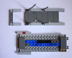 Ramp Deconstructed 2 (KirtonBricks) Tags: technic brick lego millennium falcon 75192 mod moc kirton star wars han solo
