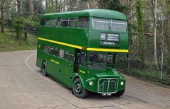 RML2334 CUV334C (PD3.) Tags: rml2334 rml 2334 cuv334c cuv 334c aec routemaster country surrey museum brooklands lbpt cobham annual bus buses coach spring gathering preserved vintage preservation trust 2019 london transport weybridge