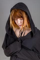 Michalina (piotr_szymanek) Tags: michanlina woman young face portrait studio hood redhead 1k 20f 5k 10k