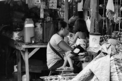 The Store (Beegee49) Tags: street marking market store fruit mother daughter filipina blackandwhite monochrome bw happy planet child talking panasonic fz1000 cadiz city philippines asia happyplanet asiafavorites