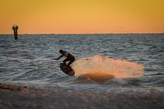 Surf in the Sunset (isabellamcd99) Tags: surf naples florida gulf ocean sand sunset