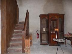 Orx, Landes: église Saint-Martin. Thème de février: escalier (Marie-Hélène Cingal) Tags: france sudouest 40 landes aquitaine nouvelleaquitaine macs orx