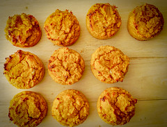 2019.02.08 Low Carbohydrate, Healthy Fat Pumpkin Muffins with Cream Cheese Filling, Washington, DC USA 09745