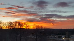 February 15, 2019 - A fine looking sunrise. (David Canfield)